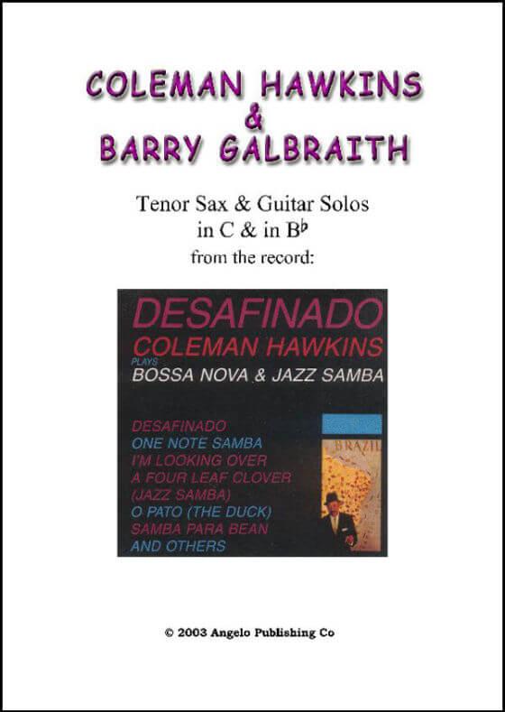 Hawkins - Desafinado (with solos)