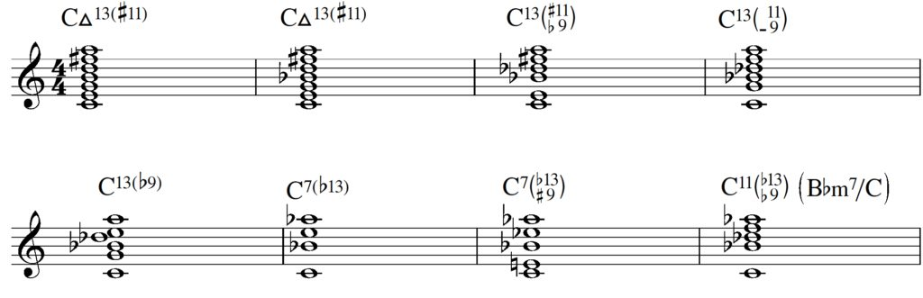13th chords